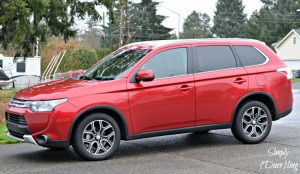 The Sporty Mitsubishi Outlander