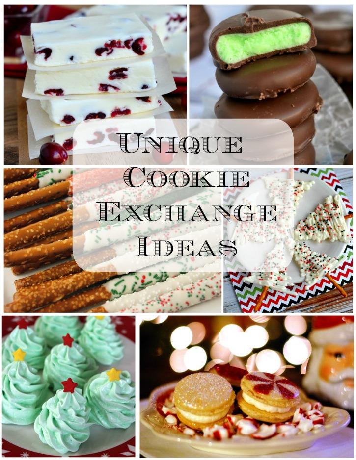 Unique Cookie Exchange Ideas