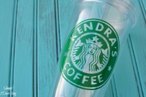 Custom Starbucks Inspired Cup