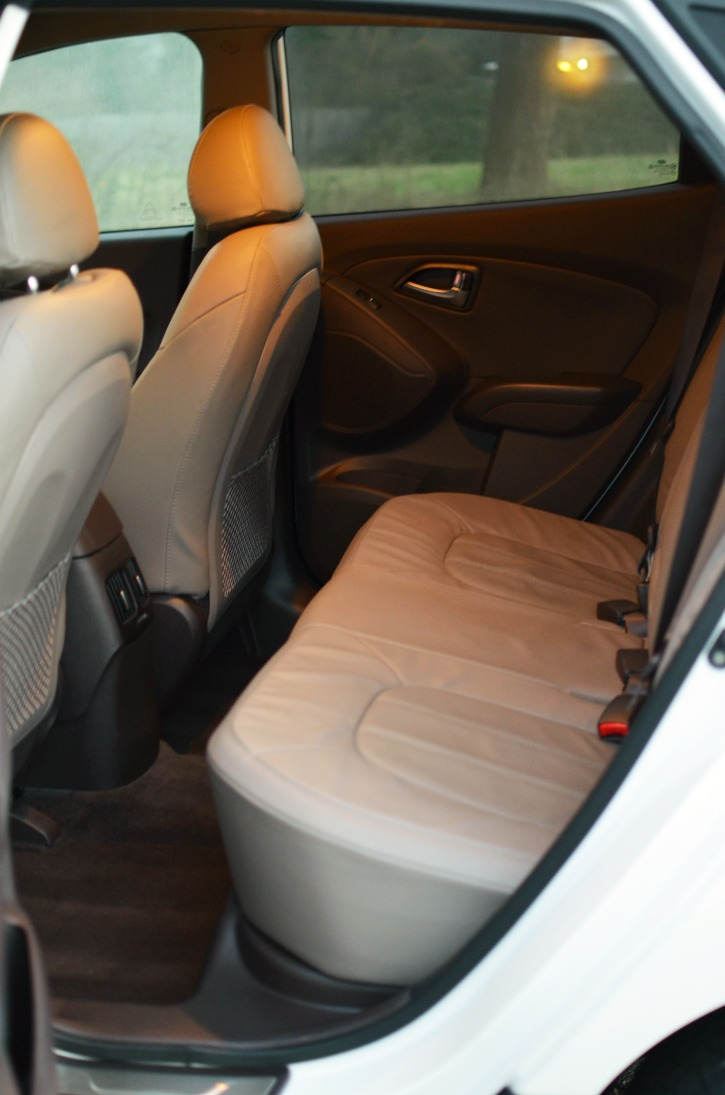Hyundai Tucson Back Seats