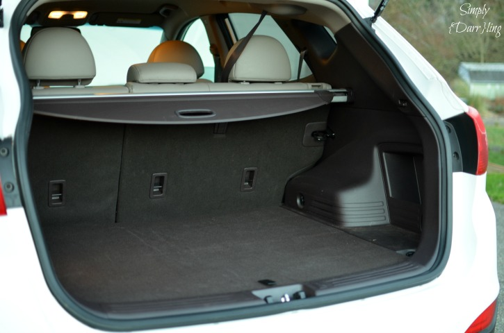 Hyundai Tucson Trunk