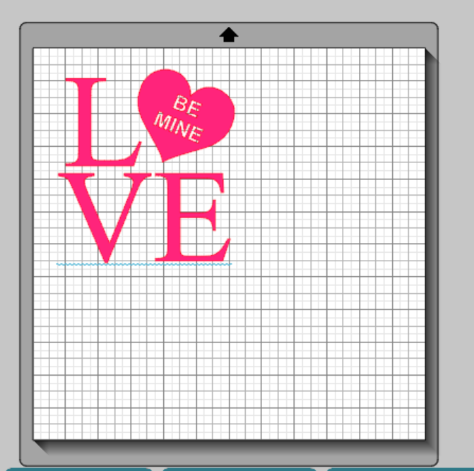 Valentine's day LOVE design