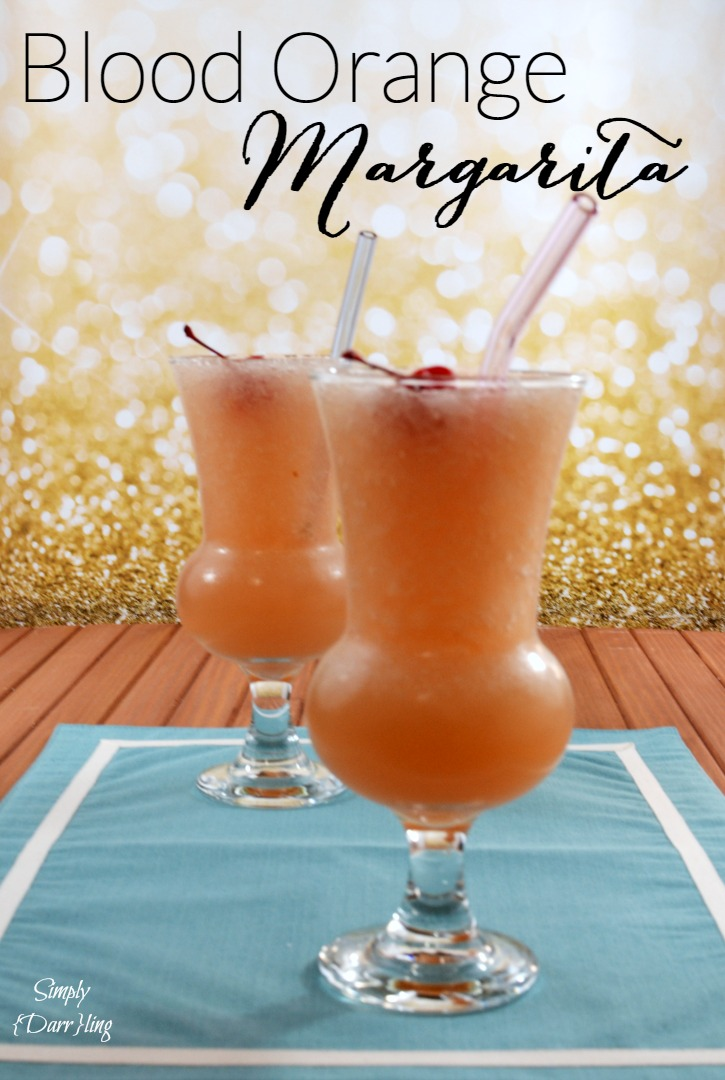 Blood Orange Margaritas Recipe — Dishmaps
