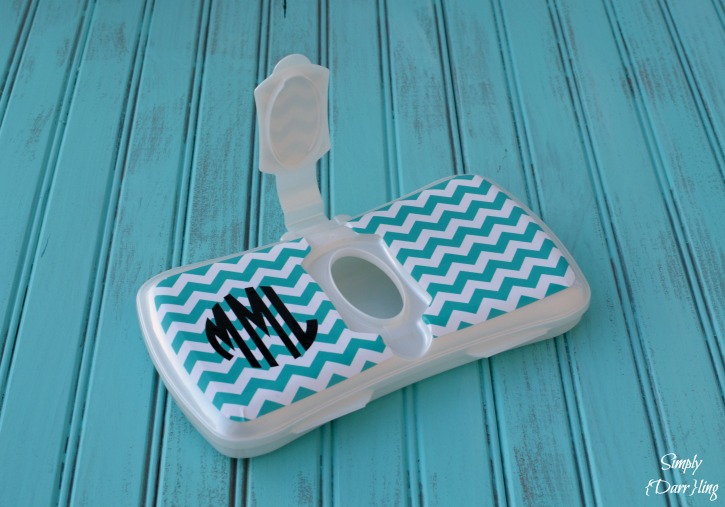 Monogram Wipes Case