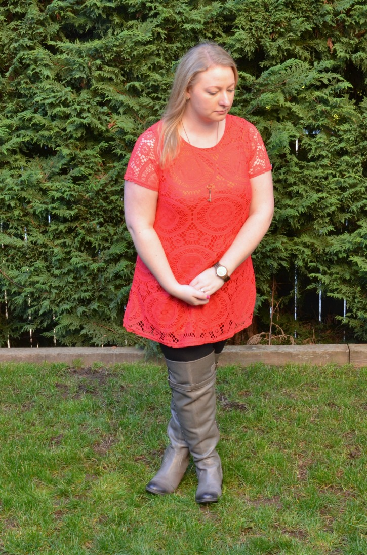 Spring Tunic with JORD Watch