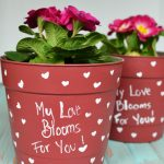 A Valentine's Day Flower Pot