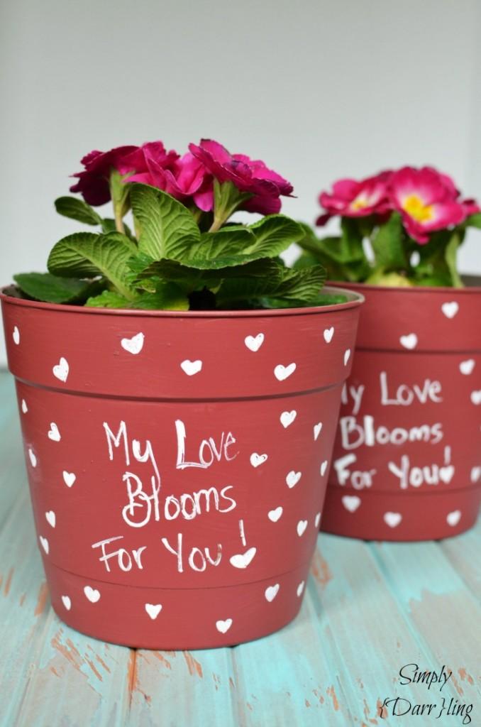 A Valentine's Day Flower Pot