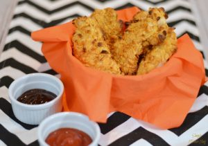 Cheez-It Crusted Chicken Strips