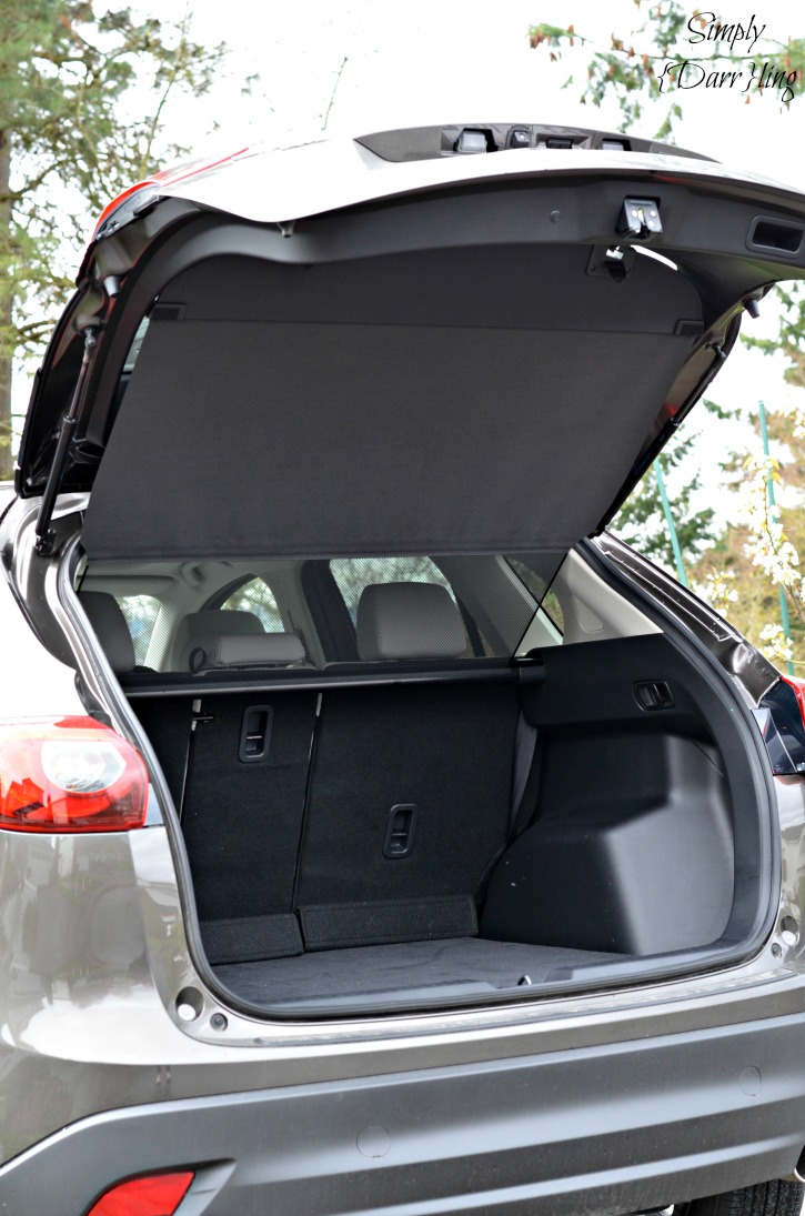 2016 Mazda CX-5 Rear Cover