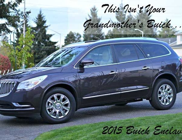 The 2015 Buick Enclave Isn't Your Grandma's Buick