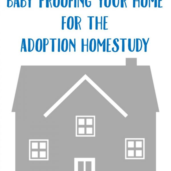 Baby Proofing For The Adoption Homestudy