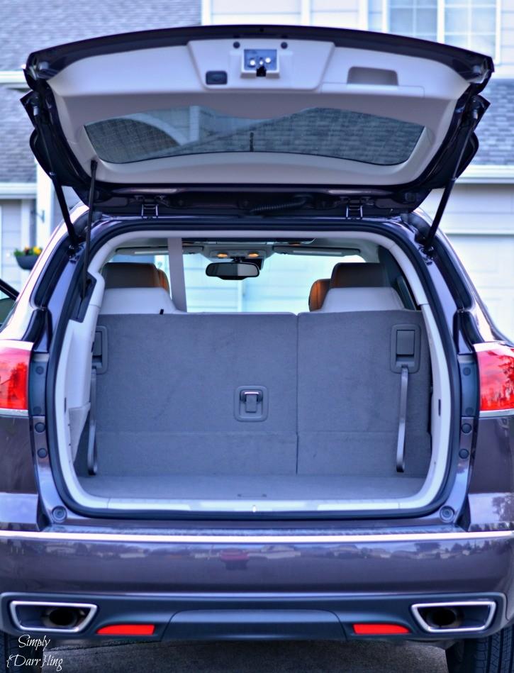 2015 Buick Enclave Rear