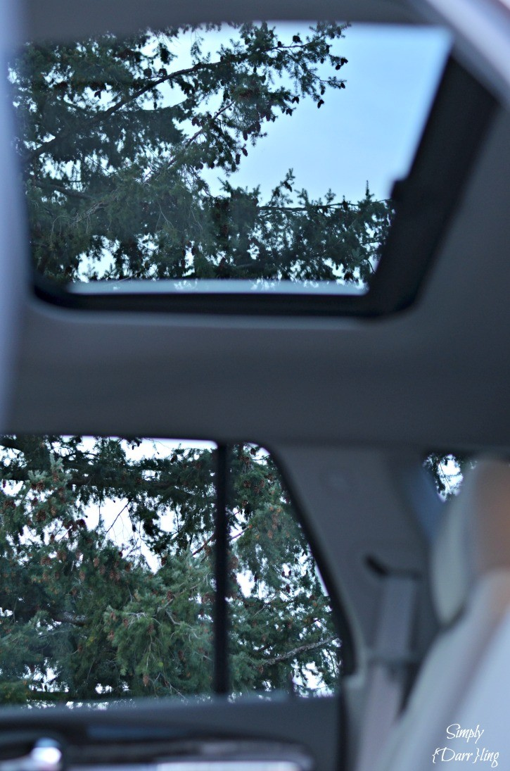 2015 Buick Enclave Rear Moonroof