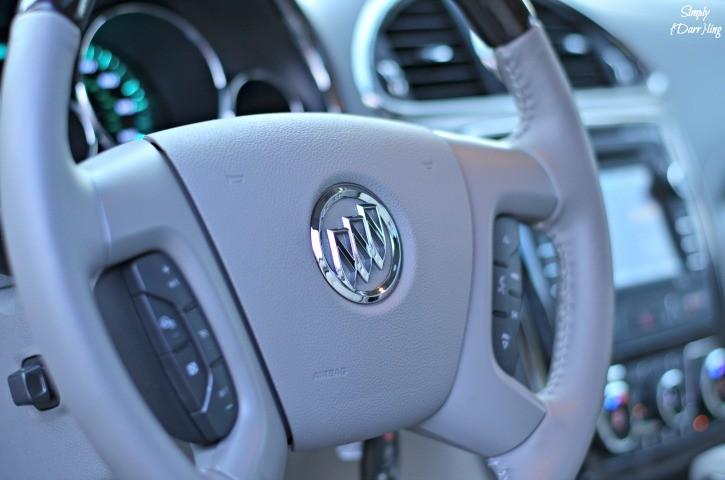 2015 Buick Enclave Steering Wheel