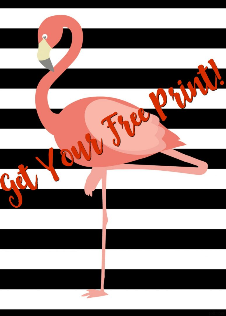 Flamingo Printable