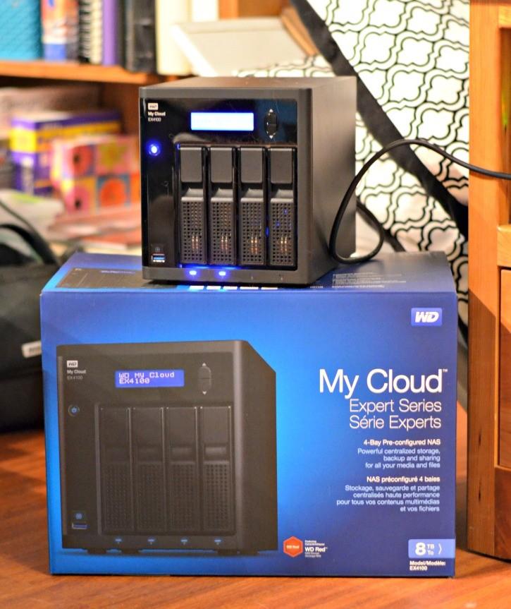wd my cloud ex4100