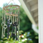 DIY Skeleton Keys Wind-chimes