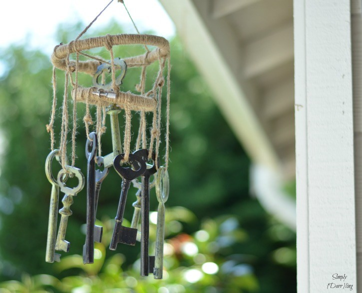 Skeleton Key Wind-Chimes