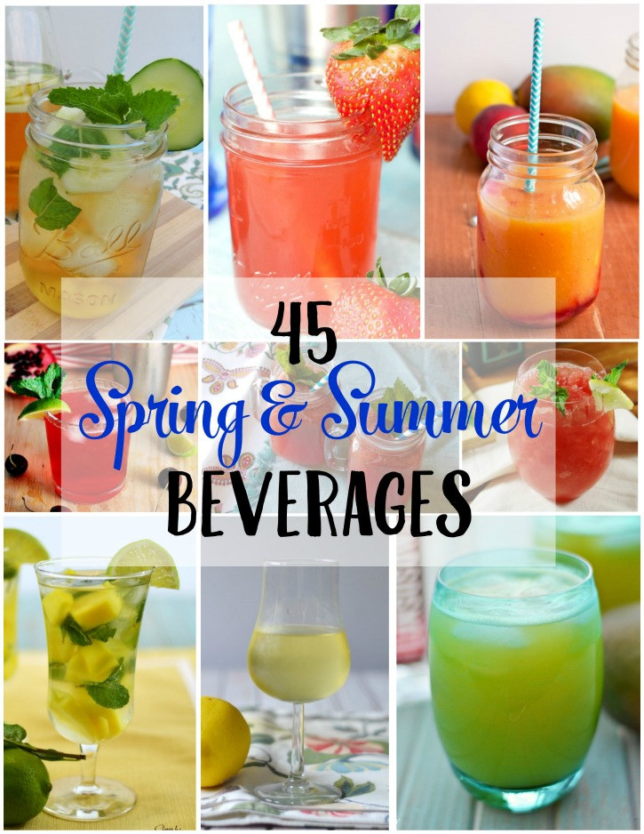 45 spring and summer beverages