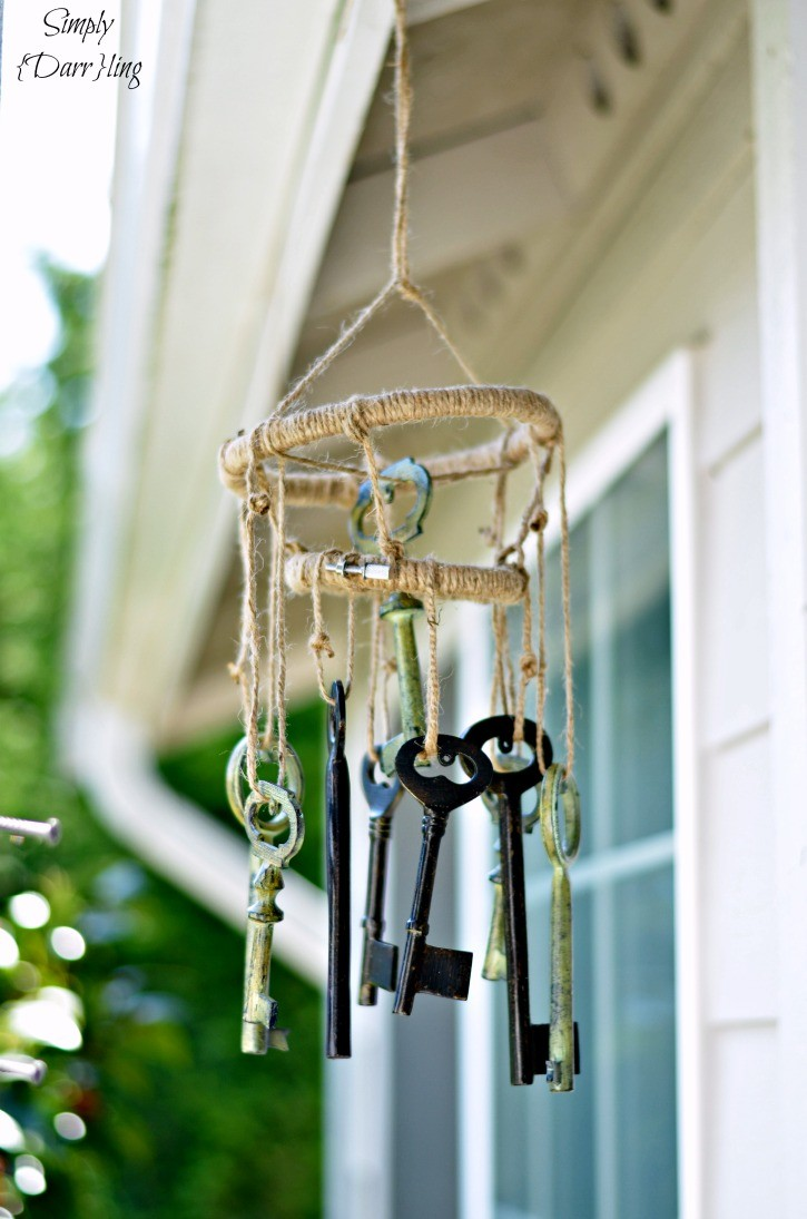 Skeleton Key WIndchimes tutoiral