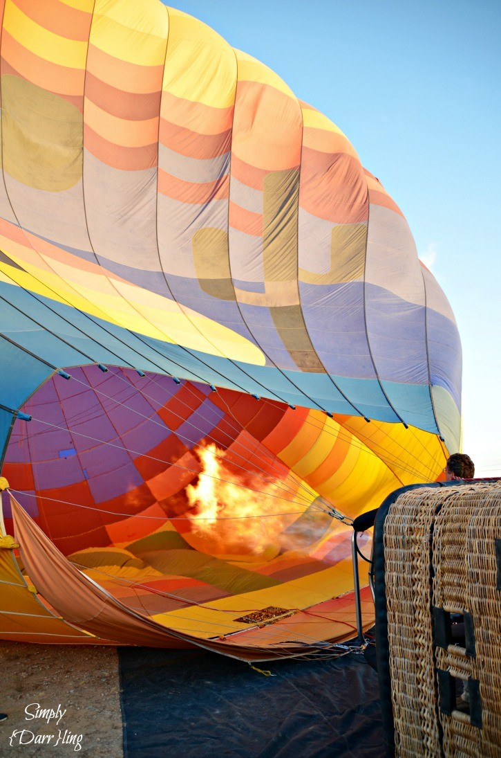 Hot Air Balloon Flame