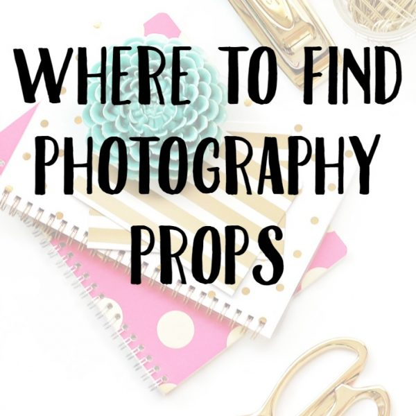 Where to Find Photography Props