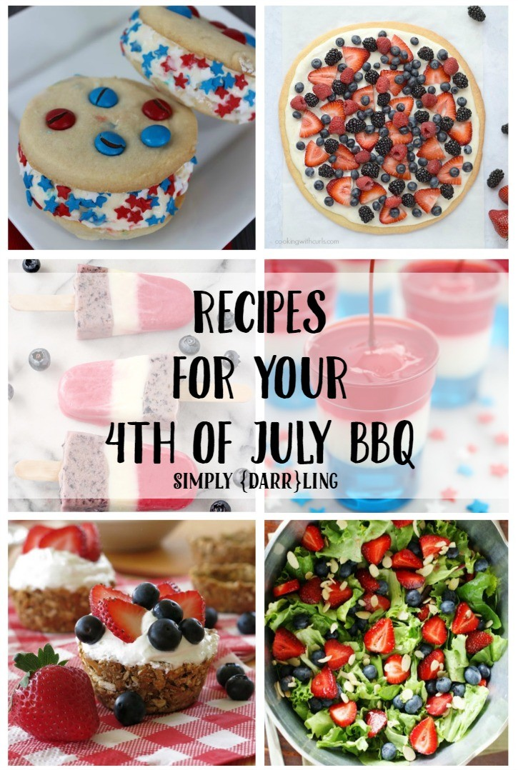 4th of July Recipes that are perfect for your BBQ.