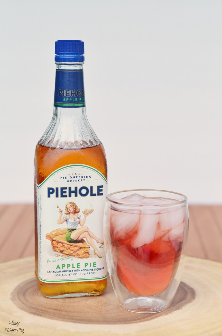 Summer cocktails with piehole whiskey simply darr ling for Good whiskey drinks for summer
