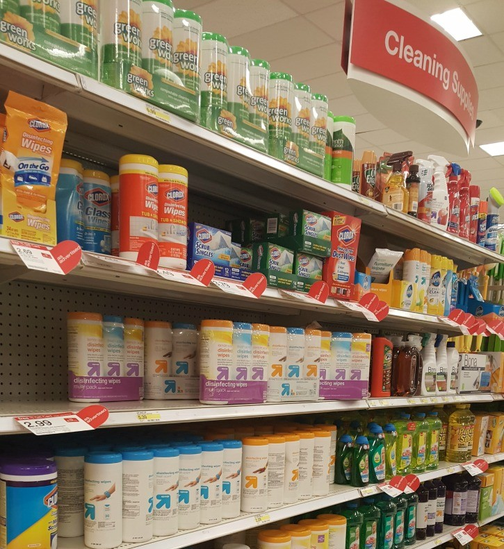 Clorox Products at Target