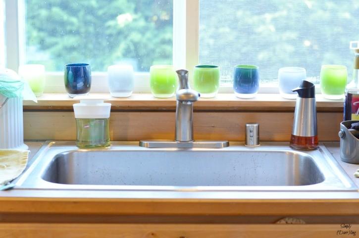 Clorox Pump 'N Clean at the Kitchen Sink