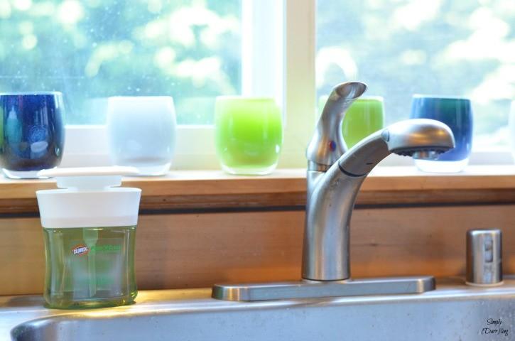 Clorox Pump 'N Clean in the Kitchen