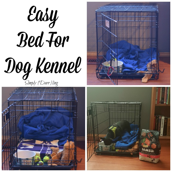 An Easy Diy Dog Bed Simply Darr Ling