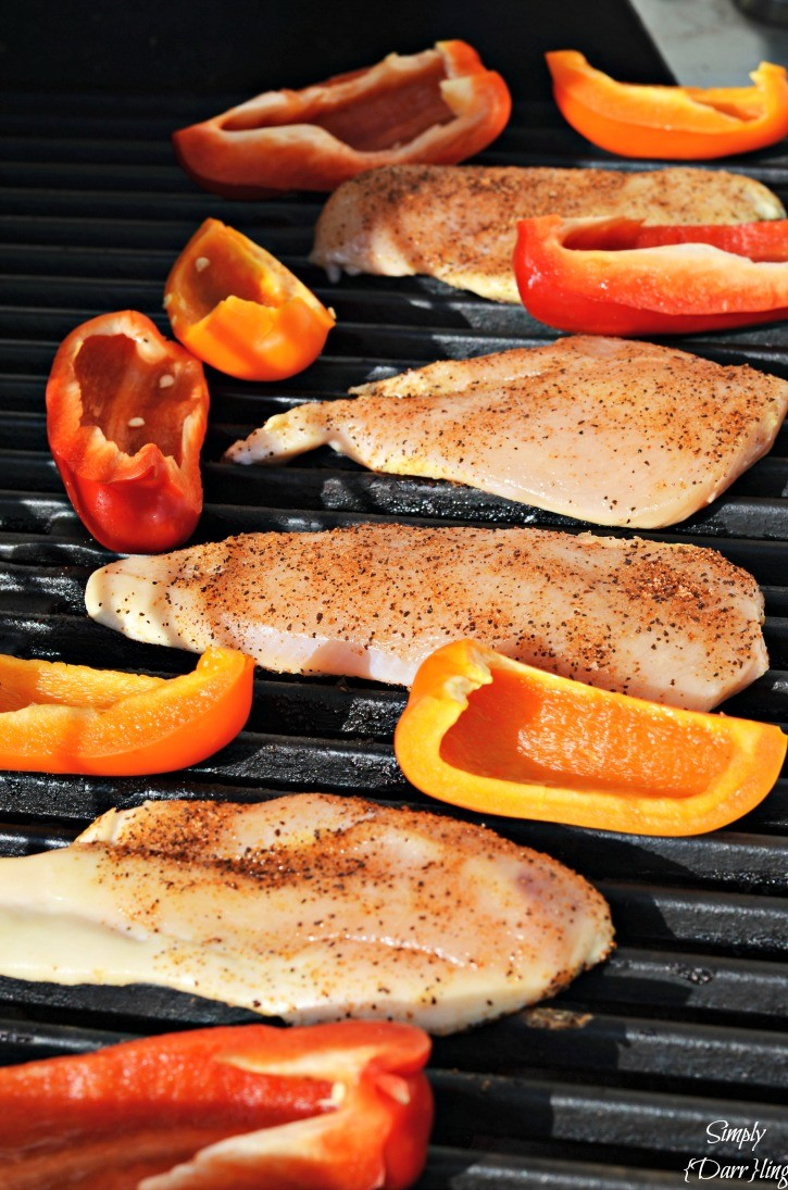 A delicious and easy grilled chicken recipe featuring foster farms chicken