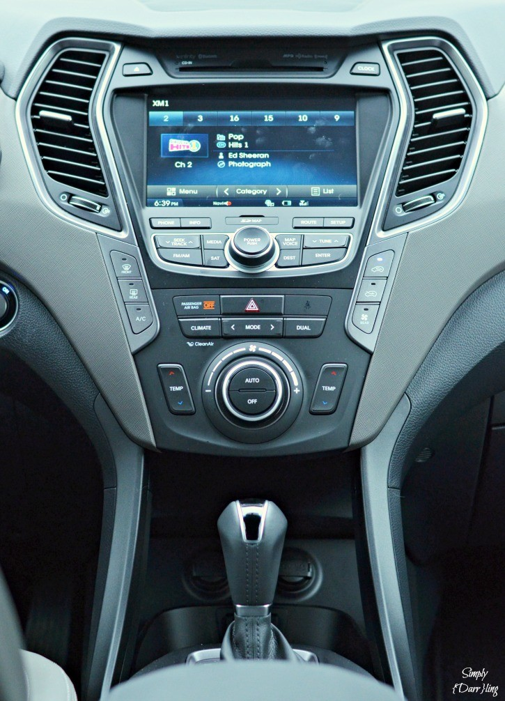 Hyundai Santa Fe Center Console
