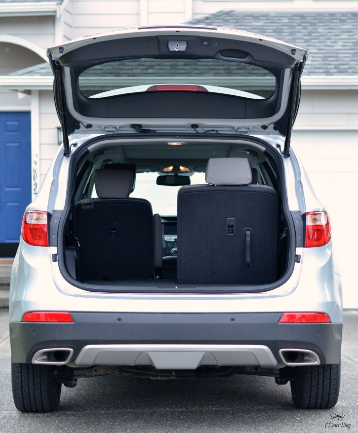 Hyundai Santa Fe Rear Seats