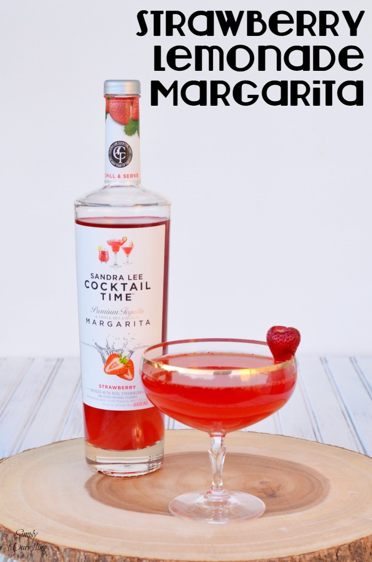Strawberry Lemonade Margarita with Sandra Lee Cocktail Time