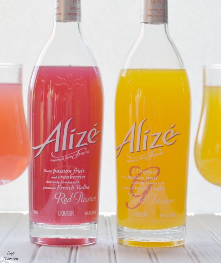 Alize Vodka Cocktials