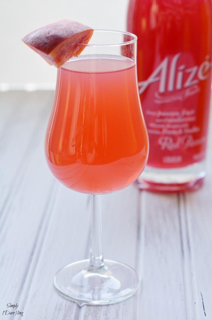 Alize Passion Fruit Cranberry Liqueur Cocktail
