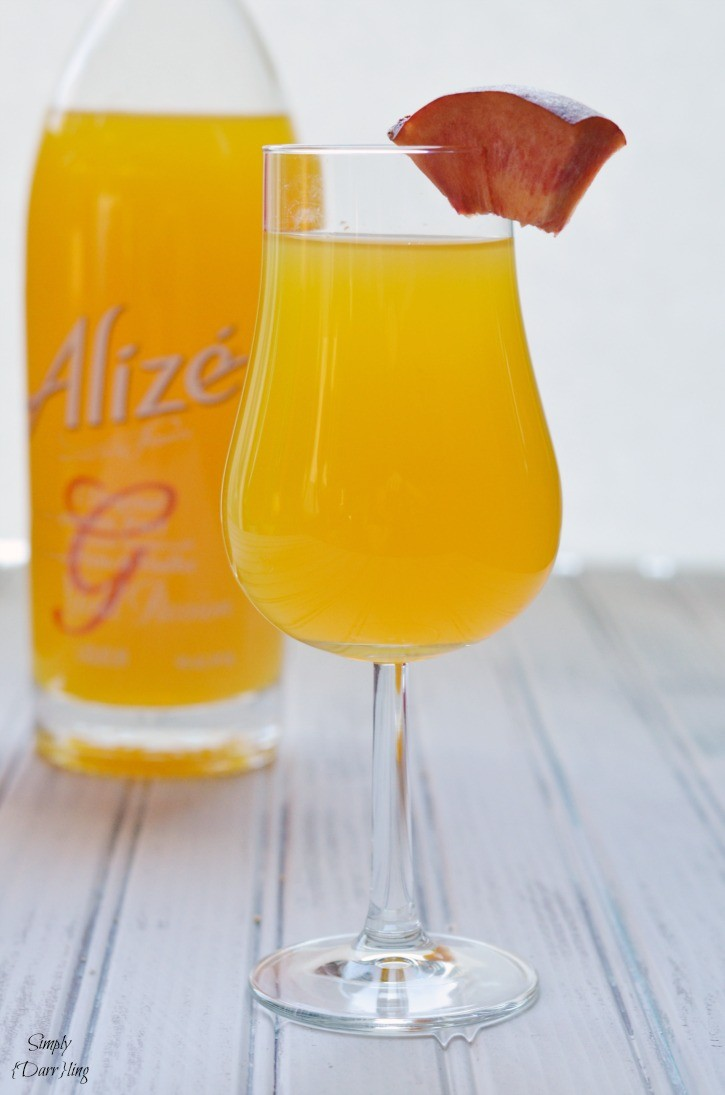 Passion Fruit Alize Liqueur Cocktail
