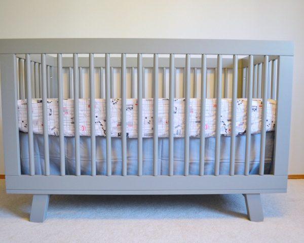 Nursery Reveal – Babyletto Hudson Crib