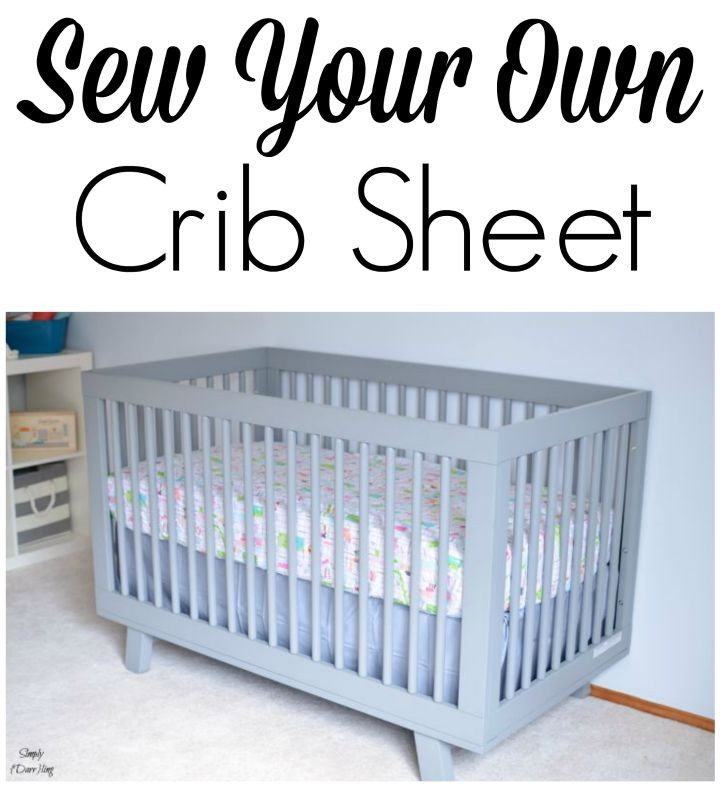 Sew Your Own Crib Sheet for the nursery