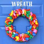 A Fun & Happy Summer Balloon Wreath