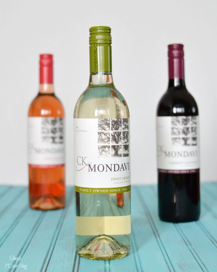 A delicious strawberry and white wine sangria featuring CK Mondavi White Zinfandel. A delicious summer beverage.