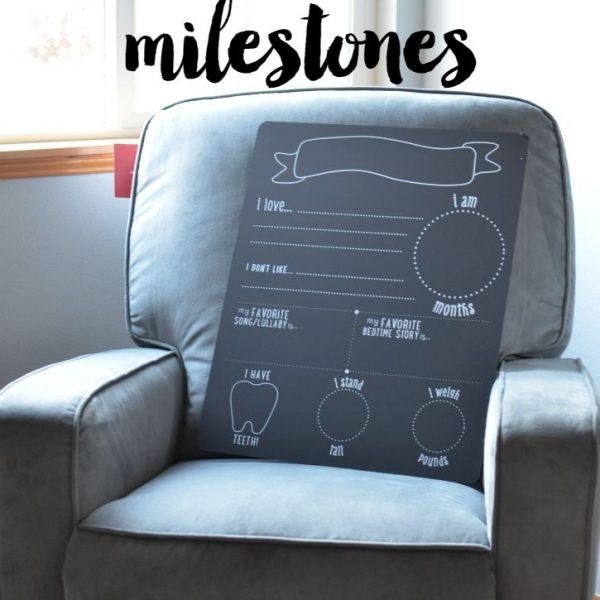 Document Baby's Milestones