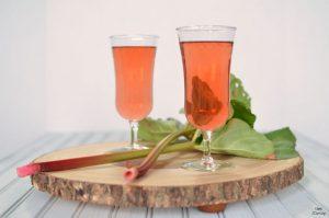 Strawberry Rhubarb Fizz Cocktail Recipe