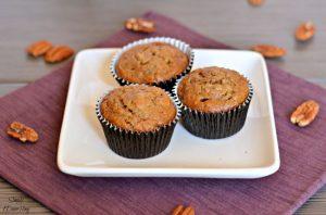 Banana, Walnut, and Bourbon Muffin Recipe