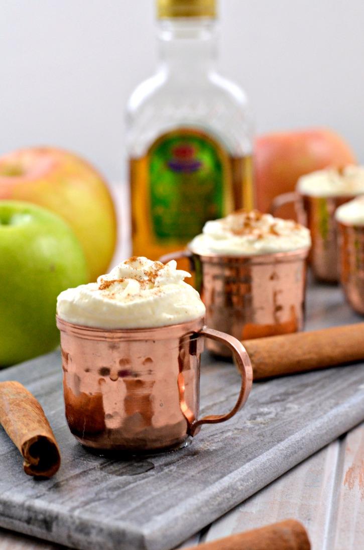 Crown Royal Warm Apple Shot Recipe