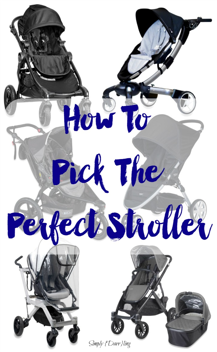 How to Pick the Perfect stroller