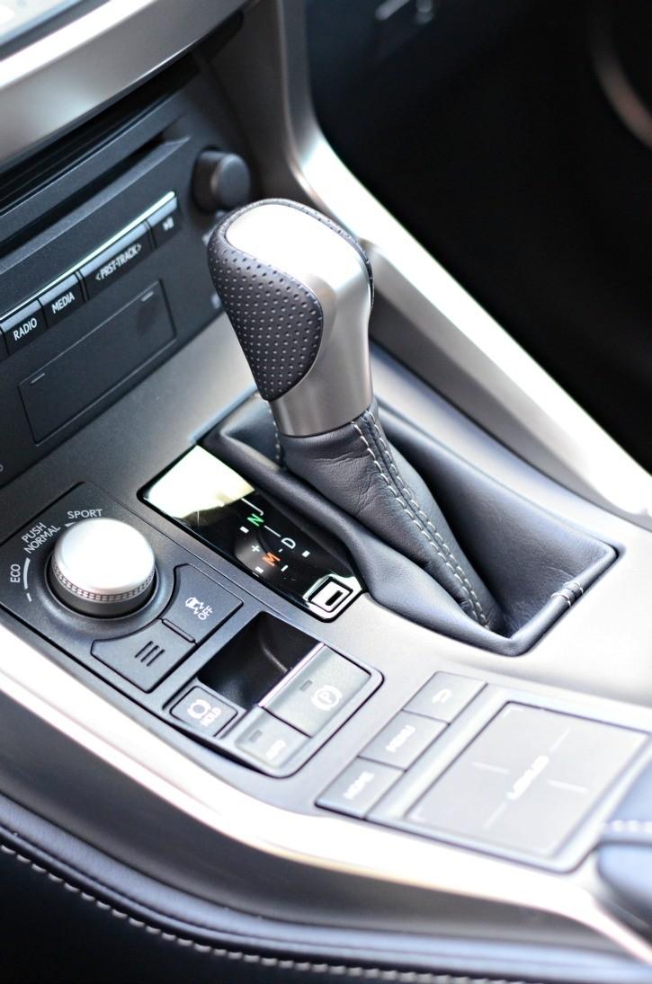 Lexus NX Center Console