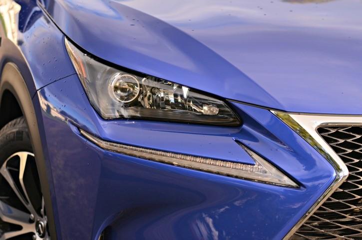 2015 Lexus NX Headlights